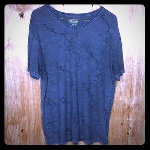 Gray & Black Marble T-Shirt